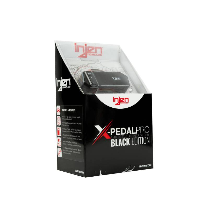 Injen INJEN X-PEDAL PRO BLACK EDITION THROTTLE CONTROLLER - PT0009B