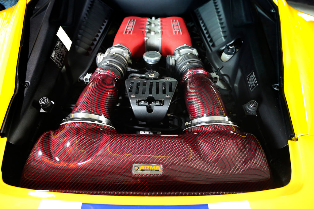 ARMASPEED Ferrari 458 Italia Carbon Cold Air Intake