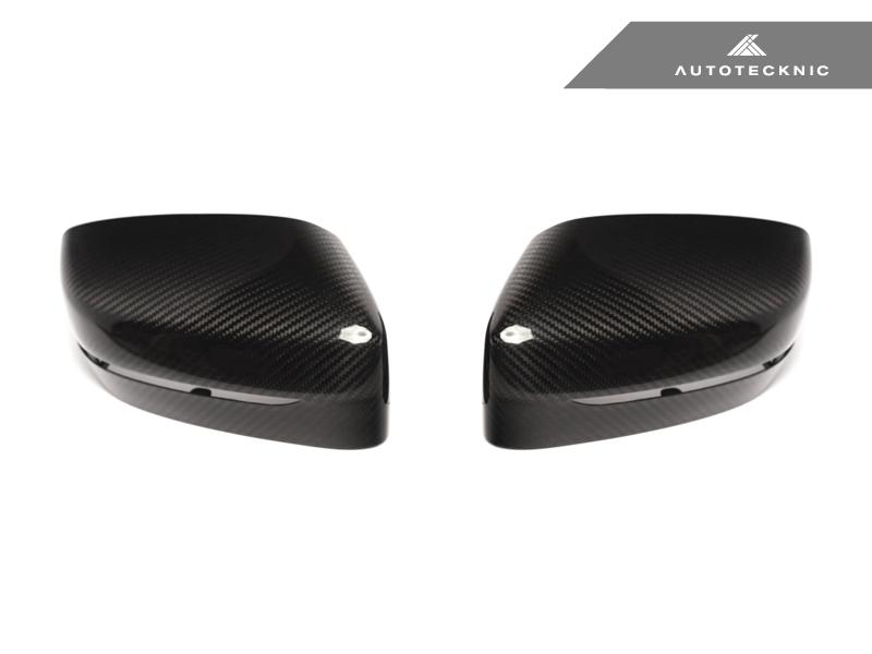 AutoTecknic Replacement Version II Dry Carbon Mirror Covers - G30 5-Series | G32 6-Series GT | G11 7-Series