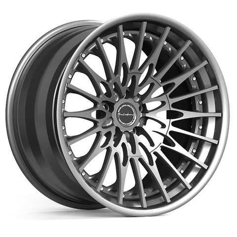 Brixton Forged HS1 TARGA SERIES 3 PIECE STEP-LIP Starting from $2181 per wheel