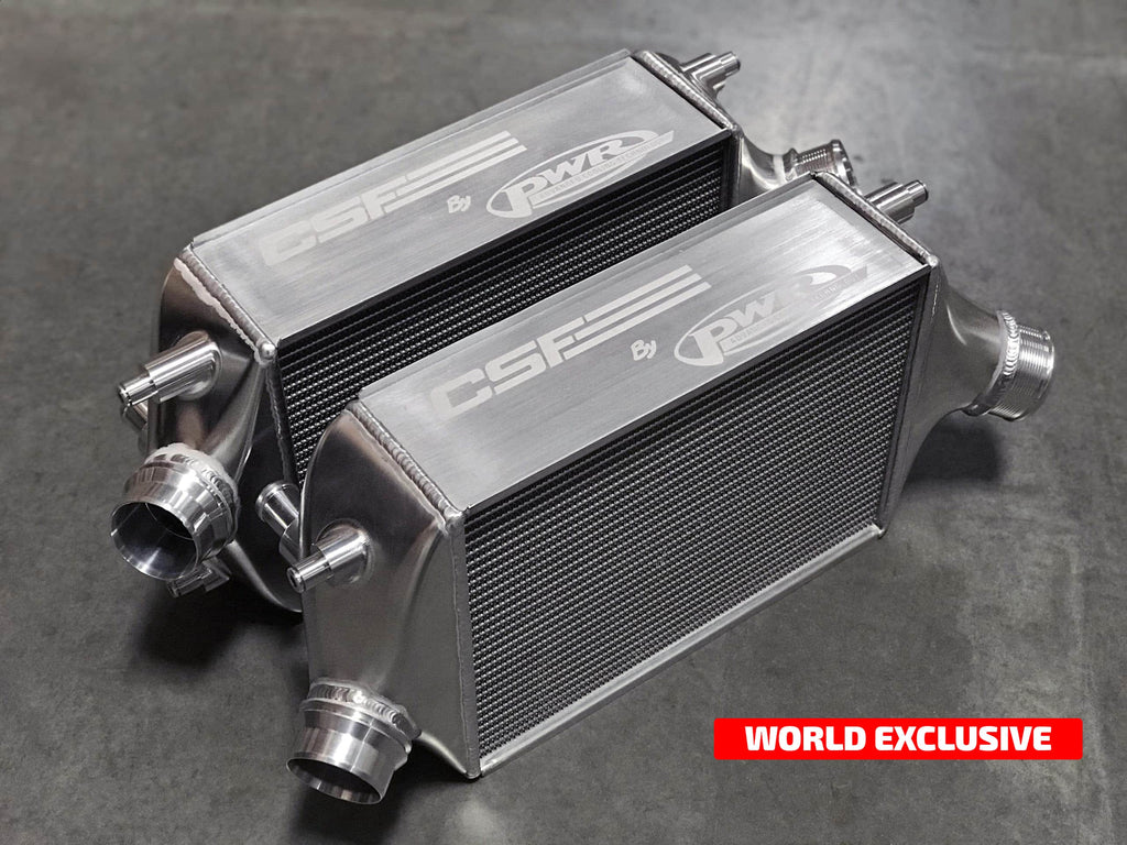 CSF Porsche 911 GT2 RS Twin Intercooler Set