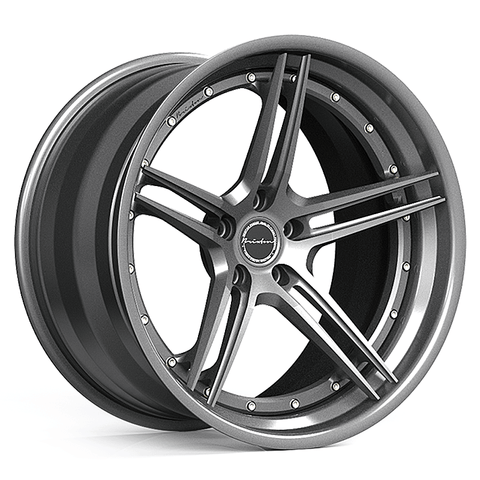 Brixton Forged M52 TARGA SERIES 3 PIECE STEP-LIP Starting from $2181 per wheel
