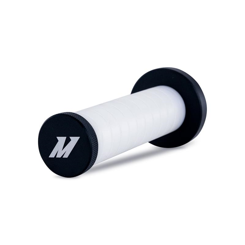 Mishimoto Weighted Grip Shift Knob - Black / White