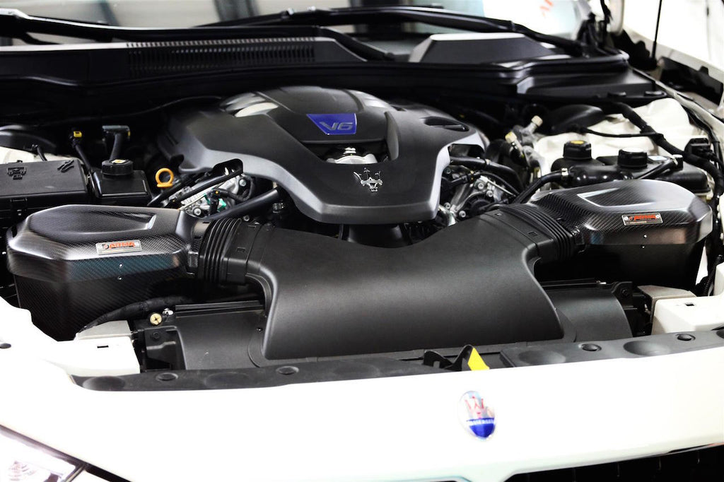 ARMASPEED Maserati Ghibli SQ4 Carbon Cold Air Intake