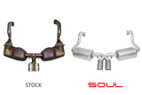 Soul Performance Porsche 987.1 Cayman / Boxster Performance Exhaust System