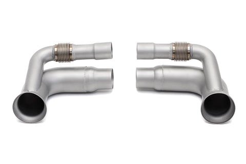 Soul Performance Porsche 991.1 / 991.2 GT3 Side Muffler Bypass Pipes