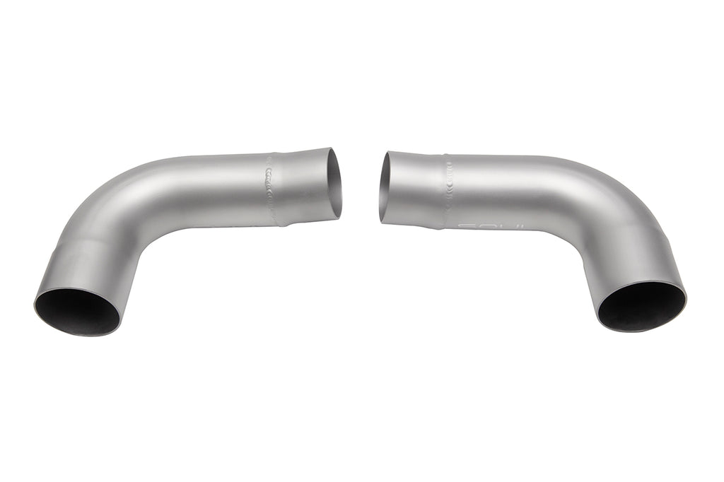 Porsche 997.1 Carrera Muffler Bypass Pipes (For S models ONLY - resuse OEM tips - not compatable with Base / PSE tips)
