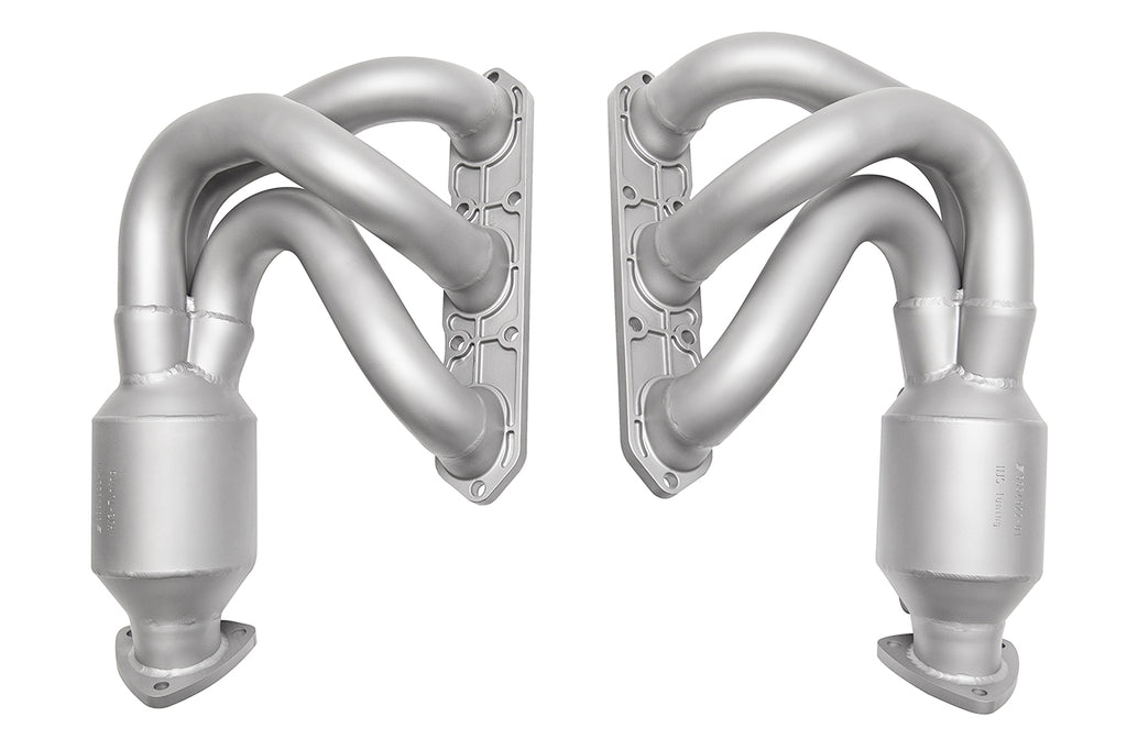 Soul Performance Porsche 987.1 Cayman / Boxster Long Tube Street Headers (w/ HJS 200 cell catalytic converters)