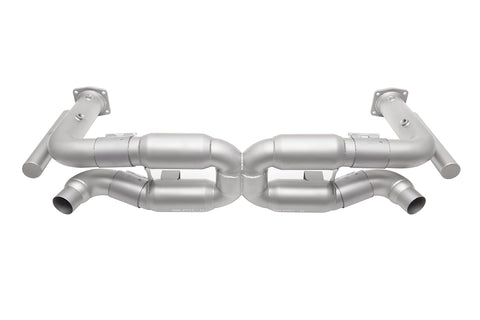 Porsche 996 Turbo Competition X-Pipe Exhaust System (includes Cat Bypass Pipes)