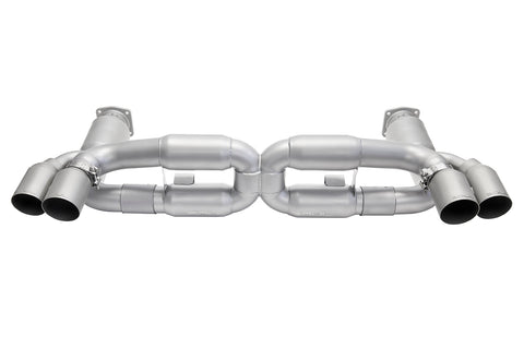 Porsche 997.1 Turbo Sport X-Pipe Exhaust System (includes Sport Catalytic Converters)