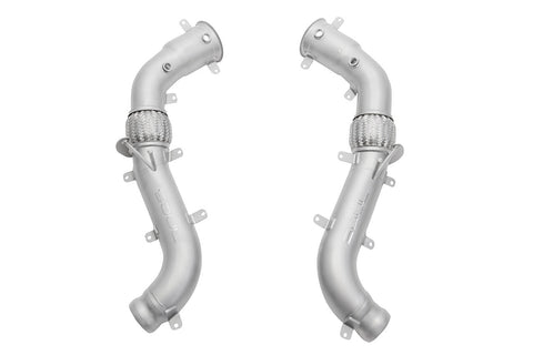 "McLaren MP4-12 C / 650S / 675LT 3.5"" Competition Downpipes"