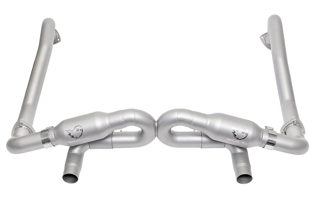 Soul Performance Porsche 718 GT4 Cayman Race Exhaust