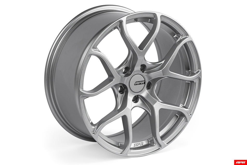 APR A01 Flow Formed Wheels (18x8.5) (Hyper Silver) (1 Wheel)