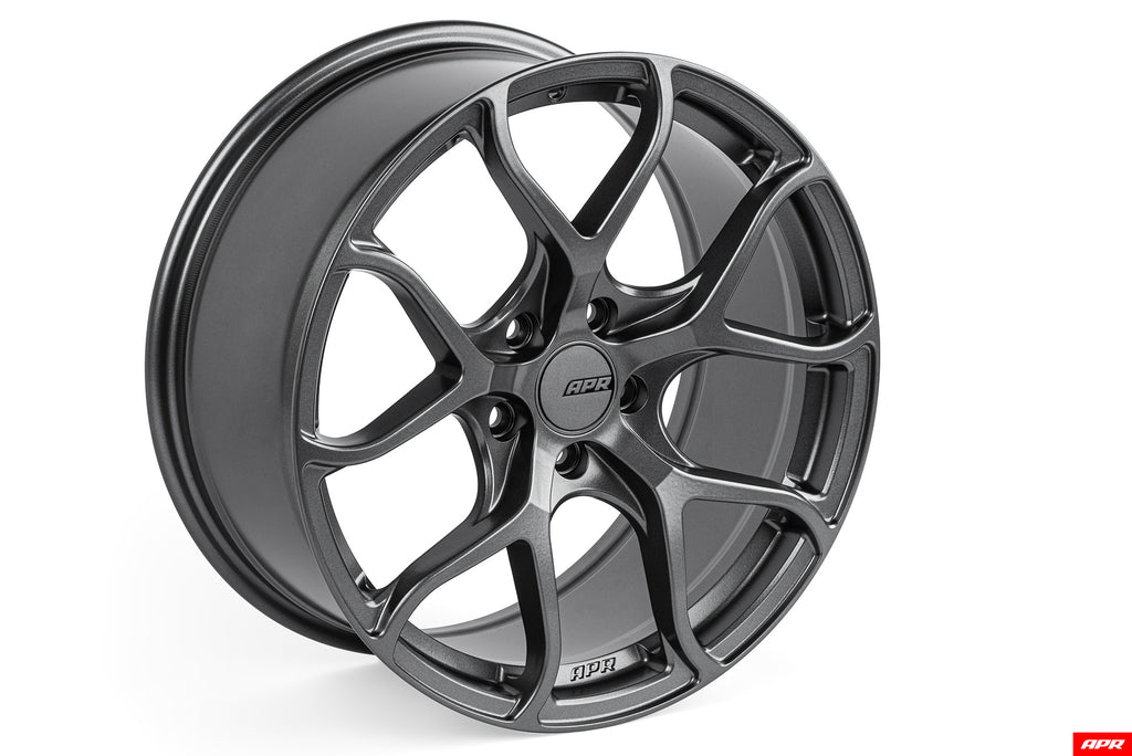 APR A01 Flow Formed Wheels (18x9.0) (Gunmetal Grey) (1 Wheel)