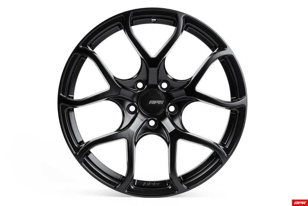 APR A01 Flow Formed Wheels (19x8.5) (Satin Black) (1 Wheel)