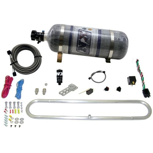 Nitrous Express N-Tercooler System w/Composite Bottle (Remote Mount Solenoid)