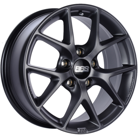 BBS SR 022 18x8 5x130 ET50 CB71.6 Satin Grey Wheel