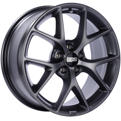 BBS SR 032 18x8 5x112 ET21 CB66.5 Satin Grey Wheel