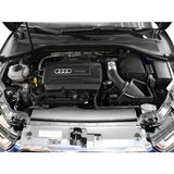aFe POWER Magnum FORCE Stage-2 Cold Air Intake System w/Pro DRY S Filter Media Audi A3/S3 15-19 I4-1.8L (t)/2.0L (t)