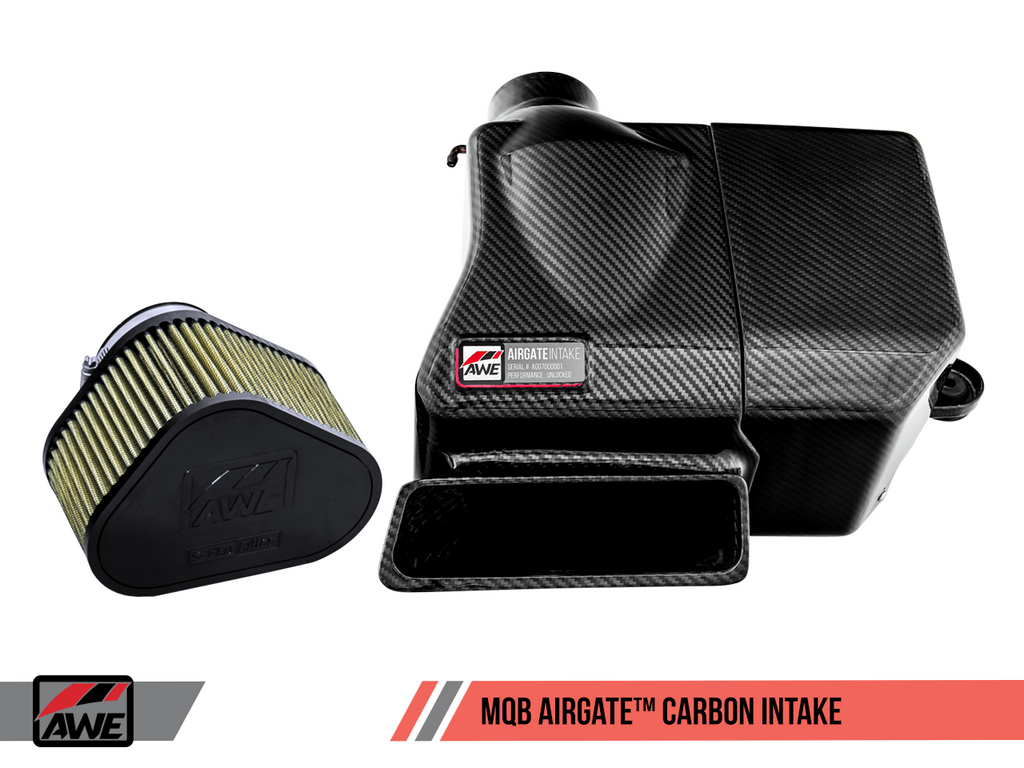AWE AIRGATE™ CARBON INTAKE FOR AUDI / VW MQB WITH LID
