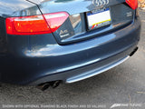 AWE Tuning Audi B8 A5 3.2L Touring Edition Exhaust System - Quad 90mm Slash Black Tips