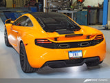AWE Tuning McLaren MP4-12C Performance Exhaust - Machined Tips