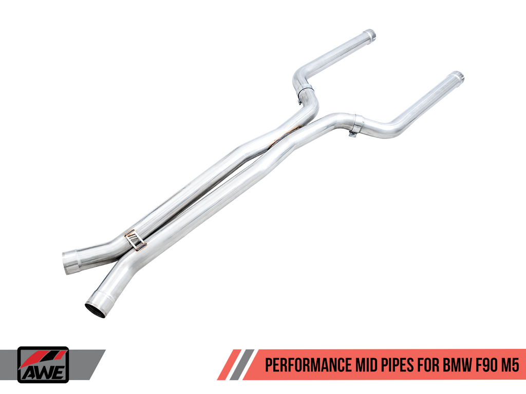 AWE Tuning Performance Mid Pipes for BMW F90 M5
