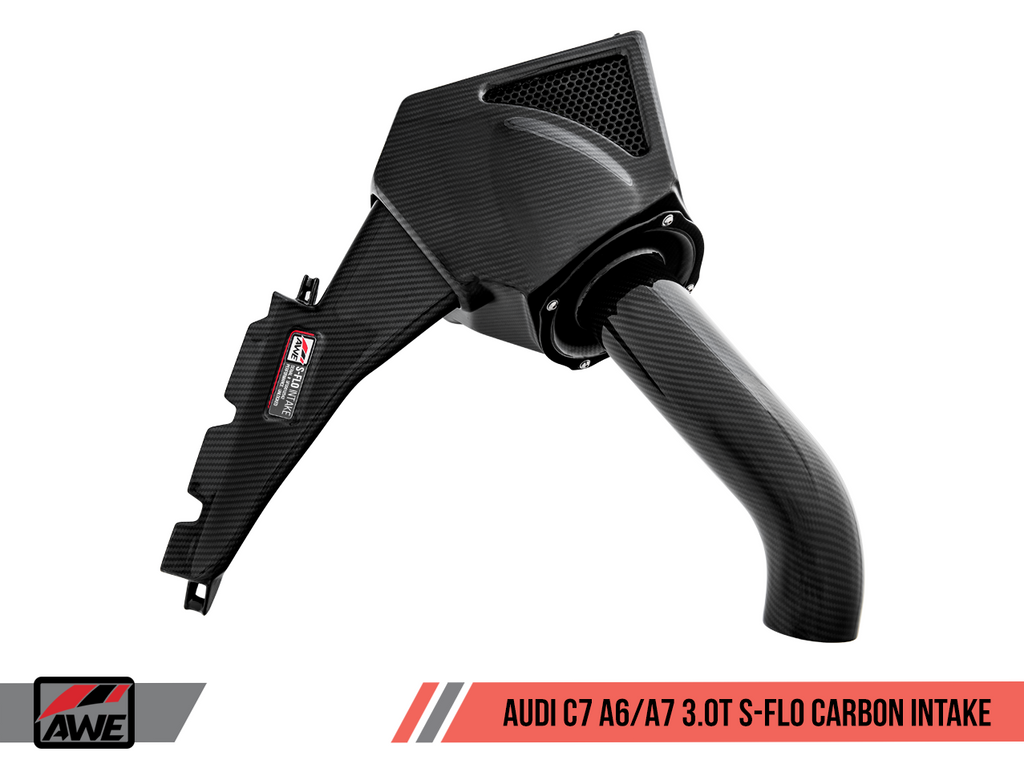 AWE TUNING S-FLO CARBON INTAKE FOR AUDI C7 A6 / A7 3.0T