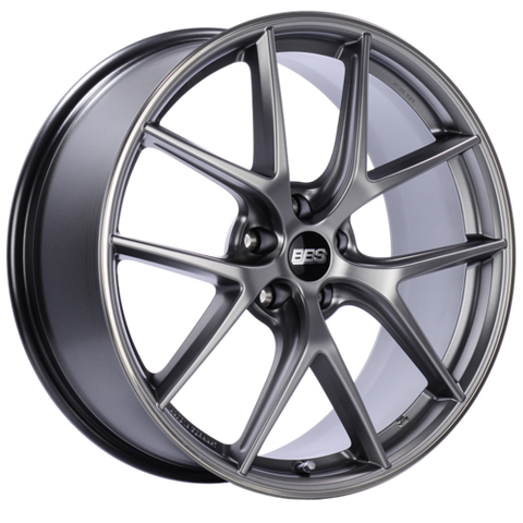 BBS CI-R 0102 20x8.5 5x120 ET32 Platinum Silver Polished Rim Protector Wheel -82mm PFS/Clip Required