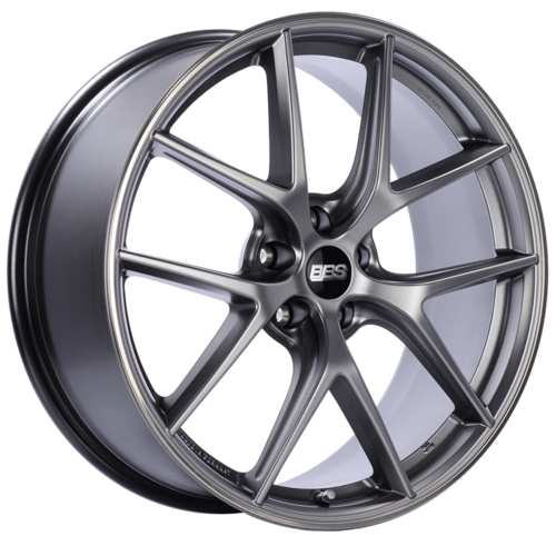 BBS CI-R 0104 20x8.5 5x114.3 ET40 Platinum Silver Polished Rim Protector Wheel -82mm PFS/Clip Required