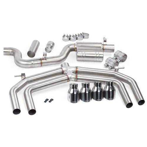 APR Catback Exhaust System (Valveless) - S3 (8V)