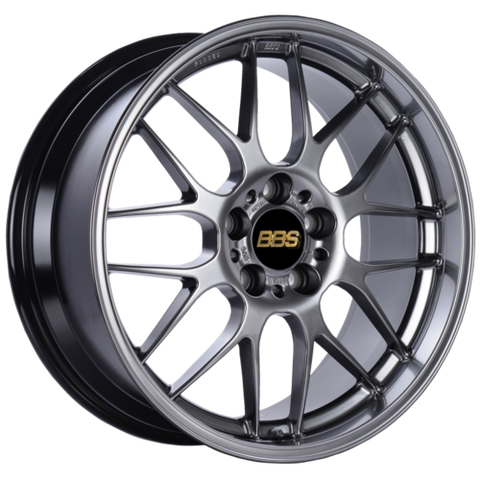 BBS RG-R 734H 18x8.5 5x120 ET38 CB72.5 Diamond Black Wheel