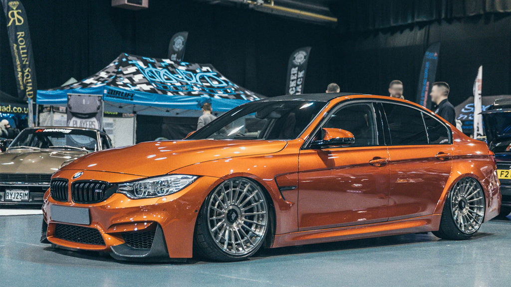 Air Lift Performance 2015-2017 BMW M3/M4 Front Kit (5 Bolt)