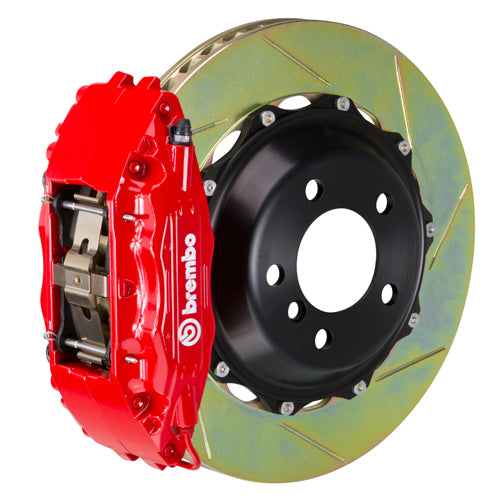 Brembo Audi A6 2.7T with 4-pad Caliper (C5) - GT Big Brake Kit 355x32 2-Piece Front