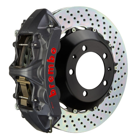 Brembo BMW 335i (Excluding xDrive) (E90/E92/E93) -  GT-S Big Brake Kit 355x32mm 2-Piece Front Hard Anodized Monobloc Track Day and Club Racing Calipers