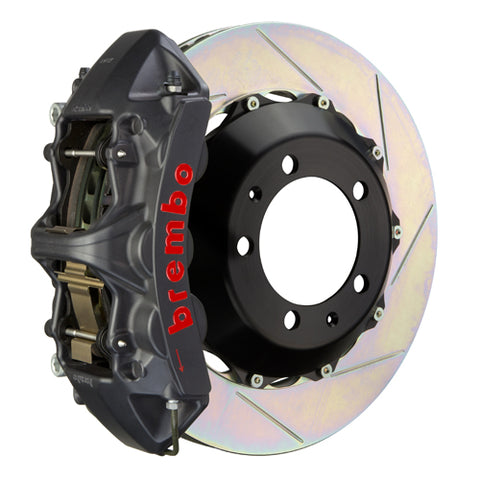 Brembo Porsche Boxster | Cayman (981.1) -  GT-S Big Brake Kit 355x32mm 2-Piece Front Hard Anodized Monobloc Track Day and Club Racing Calipers