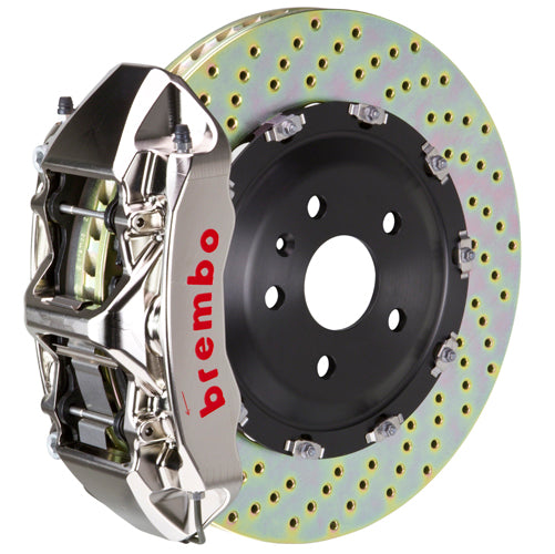 Brembo Audi A6 3.0T | 4.2L (C6) - GT-R Big Brake Kit 380x34mm 2 Piece Discs Front