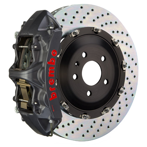 Brembo Audi A4 (B7) - GT-S Big Brake Kit 355x32mm 2-Piece Front Hard Anodized Monobloc Track Day and Club Racing Calipers