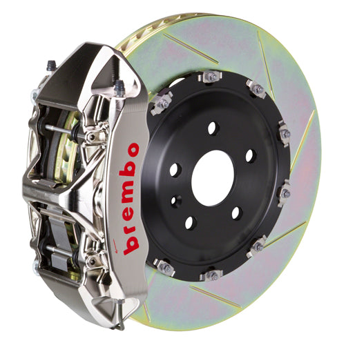 Brembo Audi A6 3.2L (C6) - GT-R Big Brake Kit 380x34mm 2 Piece Discs Front