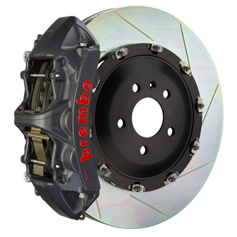 Brembo Audi S4 (B6) - GT-S Big Brake Kit 355x32mm 2-Piece Front Hard Anodized Monobloc Track Day and Club Racing Calipers