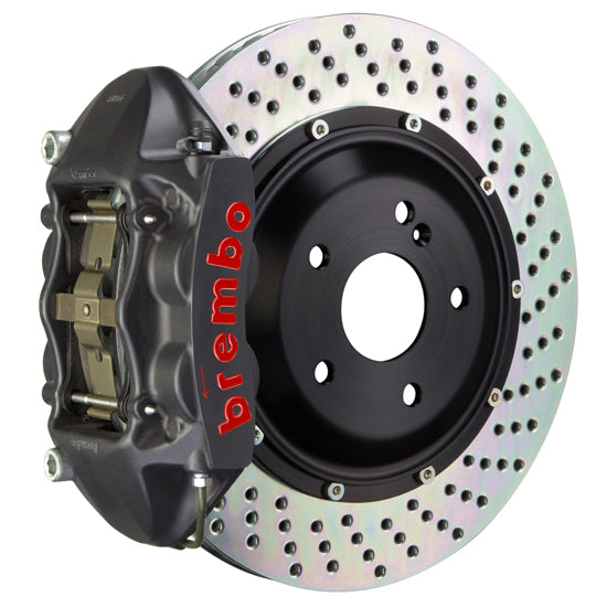 Brembo Audi Q7 (4L) - GT-S Big Brake Kit 380x28mm 2-Piece Rear Hard Anodized Monobloc Track Day and Club Racing Calipers