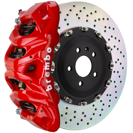 Brembo Audi Q7 (4M) - GT Big Brake Kit 412x38 2-Piece Front (Monobloc) (BM-8 Caliper)