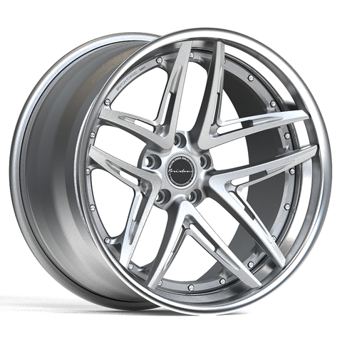 Brixton Forged BB01 TARGA SERIES 3 PIECE STEP-LIP Starting from $2181 per wheel
