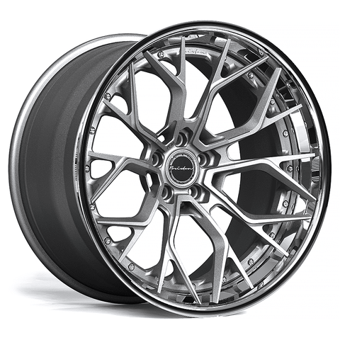 Brixton Forged PF10 TARGA SERIES 3 PIECE STEP-LIP Starting from $2181 per wheel