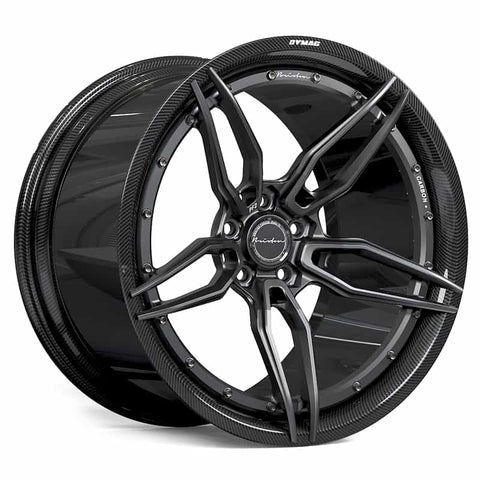 Brixton Forged PF2 CARBON+ 2-Piece, Dymag Carbon Fiber Barrel Prices starting at $4250 per wheel