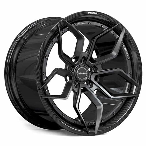 Brixton Forged PF9 CARBON+ 2-Piece, Dymag Carbon Fiber Barrel Prices starting at $4250 per wheel