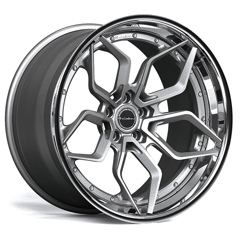 Brixton Forged PF9 TARGA SERIES 3 PIECE STEP-LIP Starting from $2181 per wheel
