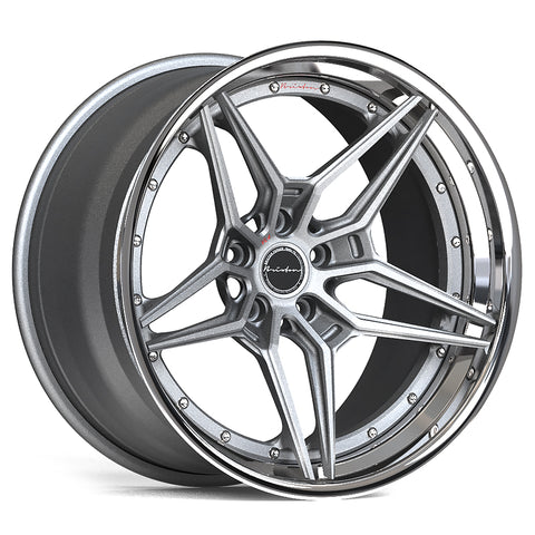 Brixton Forged VL2 TARGA SERIES 3 PIECE STEP-LIP Starting from $2181 per wheel