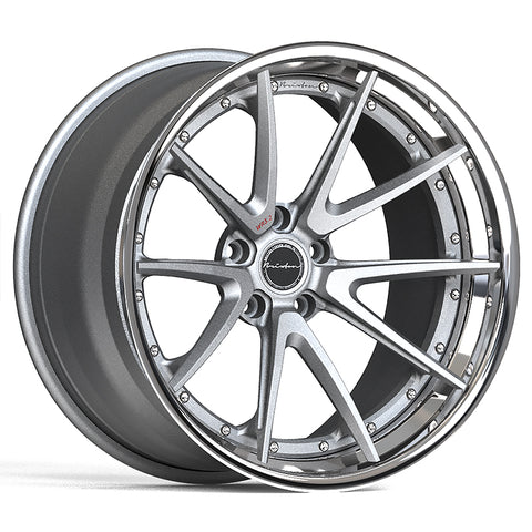 Brixton Forged WR3.2 TARGA SERIES 3 PIECE STEP-LIP Starting from $2181 per wheel