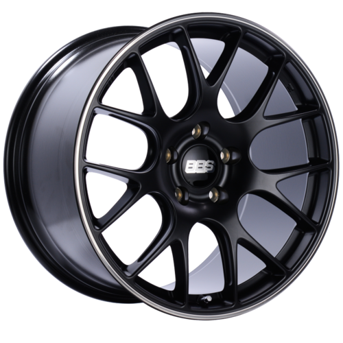 BBS CH-R138 20x11.5 5x130 ET47 CB71.6 Satin Black Polished Rim Protector Wheel